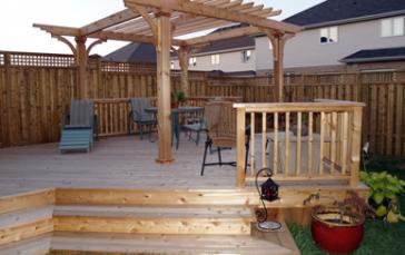 Greenvale landscapes Decking and Fencing